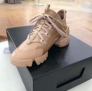2020 yeni erkek iskarpin Neopren Grogren Şerit D-Bağlan Lace Up Sneaker Lady Wrap-around Kauçuk Sole spor ayakkabılar f25