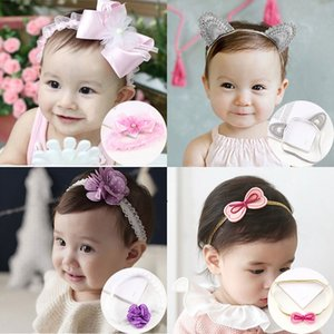 Baby cute children's accessories princess newborn Hair band headdress girl floral headdress hair band hairpin baby