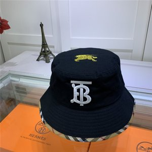 Alto calidad del sombrero del cubo diseñador casquillo de la manera Marca Tacaño Brim sombreros respirable ocasional cupo el bordado