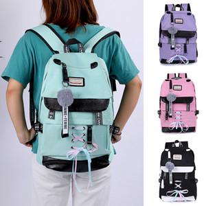 Oeak Fashion Backpack women With USB Travel Backpacksg For Women Multi Pocket Travel Backpacks Female Schoolbag