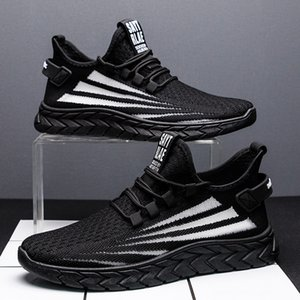 2020 New men's casual shoes shoes outdoor sports running stylish comfortable breathable sneakers
