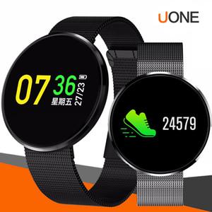 CF006H SAMART bilezik saatin SmartWatch su geçirmez İK monitör Hareketsiz hatırlatma Spor kordonlu saat spor izci
