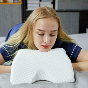 6 in1 Memory Foam Pillow Многофункционального Slow Rebound давление Защита руки шея Подушка Портативного Путешествие