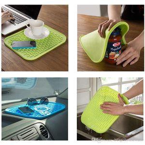 Antiderrapante Coaster Waterproof Dish tapete de silicone Placemats Tabela Mat Forno isolamento térmico Pad Bakeware Baking Liner bacia Pad BC BH1050