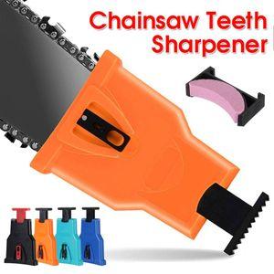 톱있는 teeths 깎이 체인 톱 블레이드를 선명하게 그라인더 도구 전원 바 마운트 톱 체인 깎이 목공 도구