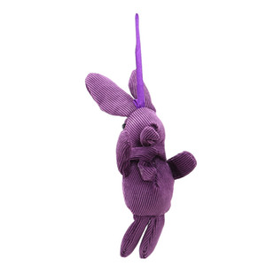 The New Rabbit Fur Velvet Long Legs Rabbit Doll Plush Toy Pendant Children Plush Toys Stuffed Animals Plush Keychains