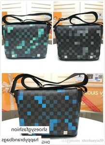 Mosaic Bag Men Messenger Bags Shoulder Belt Bag Totes Portfolio Briefcases Duffle Lage 25227