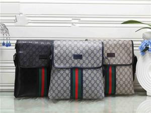 High quality men women fashion business suit briefcase diagonal cross shoulder bag storage coin purse handbag shoulder bag Pocket 12
