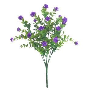 Fleurs artificielles Faux végétaux Verdure Faux Floral arbustes Plantes décor coloré