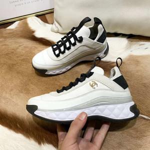 W77 in vera pelle di alta qualità più recenti di scarpe casual delle donne delle scarpe da tennis stilisti di alto livello appartamenti