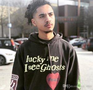 Brand designer hoodie KANYE WEST grandfather album KIDS SEE GHOSTS FREEEE HOODIE graffiti hoodie high quality off supS