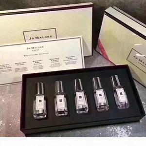 Top Quality Jo Malone London perfume 5pcs Set men perfume cologne perfumes fragrances for women 5*9ml