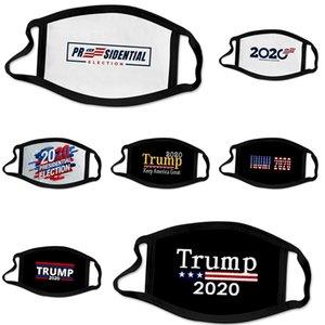 Grosso New Designer Trump Luxo Máscara Facial Algodão de protecção 3 camadas de moda Esporte Meia Face Boca Mask Anti Poluição PM2.5 3D # 562