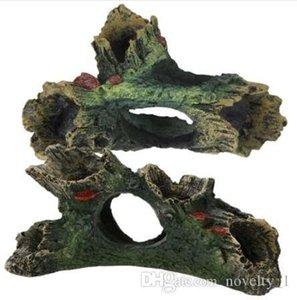 1Pcs 어항 장신구 인공적인 Driftwood 정원사 노릇을 하는 장식 비 유독한 Aquario 수지 수족관 훈장