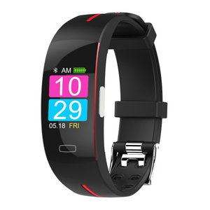 P3Plus Smart Wrist Band ECG+PPG Measurement Dynamic Heart Rate Monitor USB Charge Fitness Tracker Color Screen Smart Watch Band