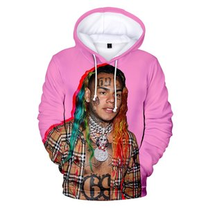 Para hombre sudaderas con capucha de impresión en 3D adolescentes otoño del resorte de Hiphop estilo casual de manga larga con capucha Tops Jerseys