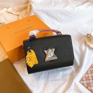 borsa a tracolla migliori donne di moda di vendita borsa del progettista di lusso in pelle di alta qualità in tutto il mondo elegante limitato il trasporto libero NB: 502.717-FIVE