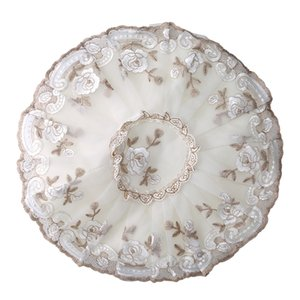 Hot Sell Temperament Flower Fan Dust Cover Short Round Elastic Band Easy To Install Household Goods Accessories