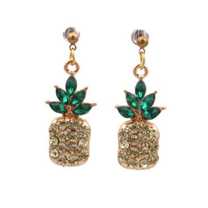 Korean Edition Korean Style Fruits Pineapple Earrings