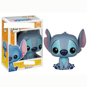 Cute FUNKO POP Stitch Star Baby Stitch figure Hand Office Aberdeen Decoration Model Sitting Position #159 wholesales or retail