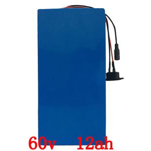US UE NO imposto 60V 12AH bicicleta elétrica 60V bateria de lítio para Bafang BBSHD 1000W 1500W Motor 60V E-bike bateria de lítio