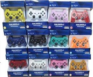 Беспроводная Bluetooth джойстики с розничной коробке для PS3 контроллер джойстики Геймпад для PS3 контроллер игры