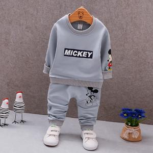 Nuevo Niño Niña Traje deportivo Conjunto de ropa para niños Niños Niñas Otoño Algodón Suéter 1 2 3 4 5 Años Niño Niños Chándal