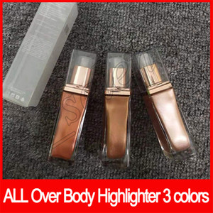 2019 maquillaje belleza de la cara de Afrodita Aurora Luna rotulador todo el cuerpo durante resaltado Bronceadores Rotuladores Liquid Glow 3 colores