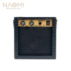 NAOMI Amplifikatör 3 W Protable Mini Ses Gitar Bas Amplifikatör Hoparlör Gitar Amp Klip Kulaklık Yeni
