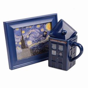 Doctor Who Mug Ceramic Mug Doctor Who Police Box Cup 500mL
