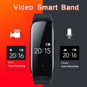 New 1080P Professinal Camera Voice Pen Video Photo Audio Sound Recording Cam Recorder Smart Band Watch Bracelet Smartband