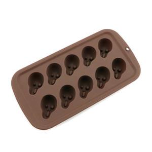 실리콘 금형 할로윈 DIY 실리카 젤 금형 두개골 재미 호박 비스킷 초콜릿 쿠키 사탕 금형 공장 직접 판매 4jr p1