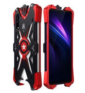 Per Huawei Honor 9x alluminio Armatura Thor caso per Huawei Honor 9x pro coprire il flash Iron Man telefono guscio protettivo della pelle Borsa per Honor 8x