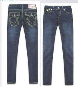 Jeans TR da uomo di tendenza europea e americana Alta qualità TR Casual Slim True Relig Jeans 8 Style 30-40 Size