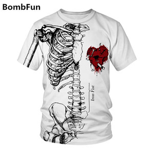 Mann-Sommer-T-Shirt Schädel-Frauen-T-Shirt 3d Lustige Druck t-shirts Hip Hop-Motorrad-Punk Tees Paare Qualitäts-Pullover Tops