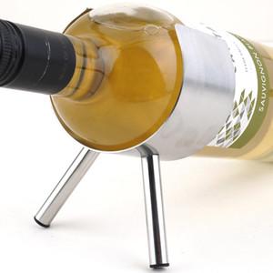 1PC nuovo vino del metallo cremagliera 1 Bottiglie Parete Wine Bar portabottiglie bagagli Rack Preferenze all'ingrosso