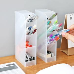 Al por mayor Nueva creativo cajón del escritorio Misceláneas cajas de almacenaje de escritorio Herramientas de maquillaje cosmético del organizador de escritorio Pluma del lápiz