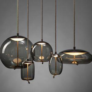Nodo Vetro Luci del pendente Illuminazione Nordic minimalista Led Designer attaccatura del salone Camera lampada creativa Luster Lampada