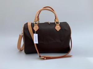 2019 venta de la manera de almohada mujeres de los bolsos bolsos de diseño de la carpeta para las mujeres del cuero Bolsa 30CM 35CM Crossbody bolso bolsos del embrague del hombro