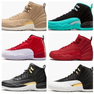 2019 Gym Red 12 Баскетбол обувь спортивных беговых ботинок Hyper Jade International Flight Vachetta Тан Крыло Этого WMNS Обучение Sneaker мужчины ботинки