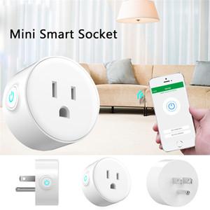 미국 스마트 플러그, Alexa가있는 WiFi 원격 제어, 타이밍 켜기 / 끄기 Power, Samrt Google 홈 전기 미니 소켓