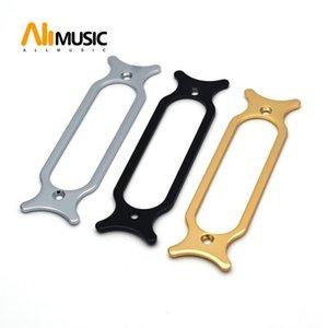 Guitarra elétrica do metal Single Coil Captura de montagem partes de guitarra Anel Chrome Black Gold para Escolher