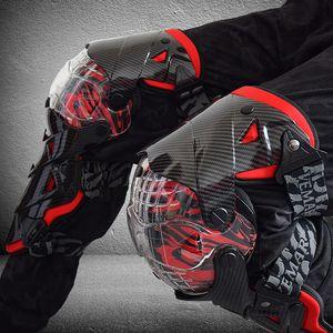 Rodilla VEMAR Nueva motocicleta Equipo de Protección rodillera Guardia Protector de rodilla Rodillera Equipo de motocross Moto Joelheira rodillera para KTM