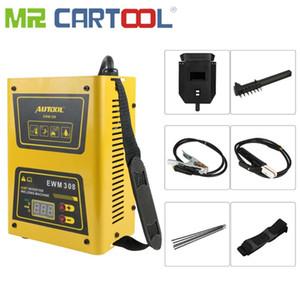 Sr. Cartool IGBT inversor AC soldador de arco máquina de soldadura autógena 220V Mini 120Amp con la máscara de soldadura Equipo Ligero eficiente