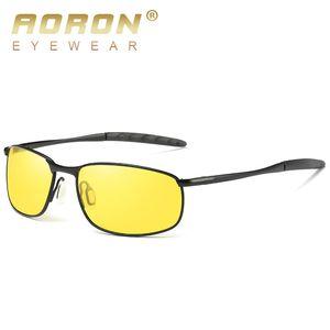 Lunettes de soleil hommes gros-concepteur hommes lunettes de police polarisées Lunettes de soleil de police HD conduite oculos De Sol lunette soleil homme D18102305