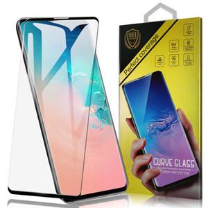 Корпус дружественных закаленное стекло для Samsung S10 Plus S9 Note10 Screen Protector изогнутый чехол Версия для iPhone 11 S7 EDGE с розничной коробкой