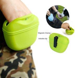 Pet Dog Training Treat Bag Training Puppy Walking Pouch Clip Silica Gel Waist Belt Side Food Portable Bags