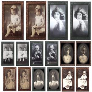 3D призрак фоторамка Хэллоуин украшения ужас ремесло поставки девичник декор Хэллоуин тематическая вечеринка реквизит 2019