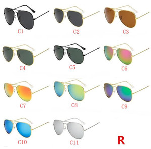 Hochwertige polarisierte linse pilot mode sonnenbrillen für männer und frauen markendesigner vintage sport sonnenbrille