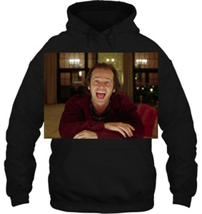 Men Hoodie Fashion Cool Funny Jack Nicholson The Shining Still Kubrick Movie Customized Printed Women Streetwear